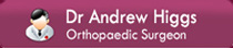 Dr Andrew Higgs  - Orthopaedic Surgeon